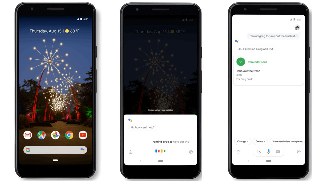 Google Assistant now lets users assign reminders to family and friends