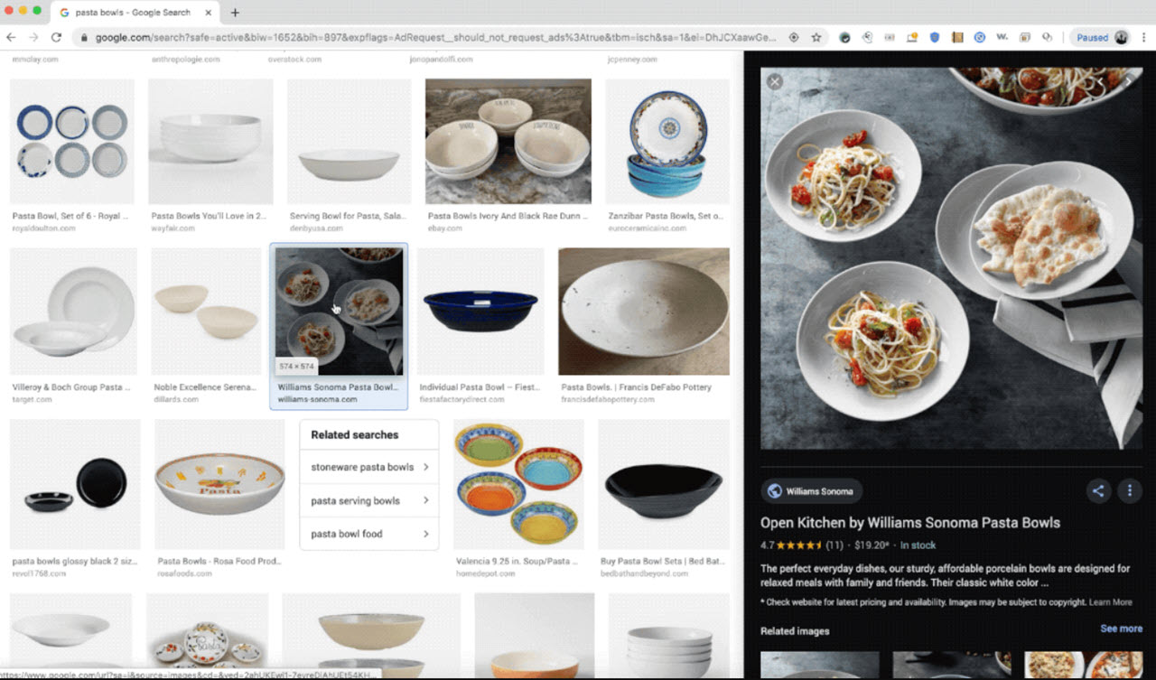 Google Images gets a refreshed image preview that appears on the side