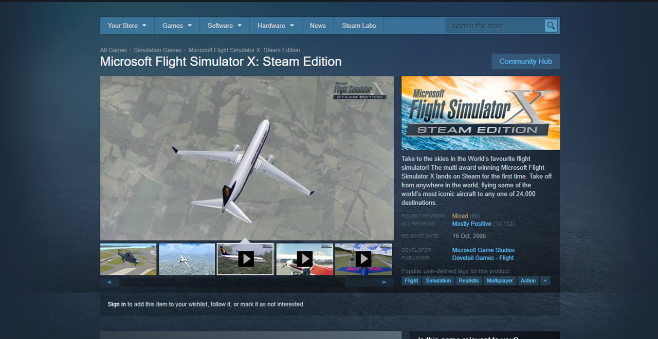 Top 7 flight simulator games for every flying enthusiast