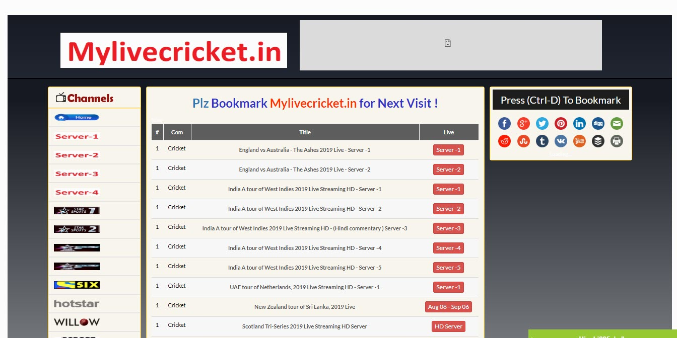 11 best websites to watch Cricket online | Candid.Technology