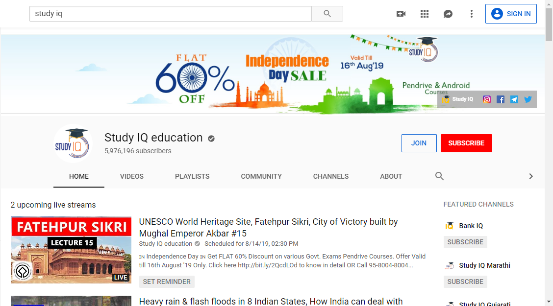 7 best YouTube channels for UPSC preparations that aspirants