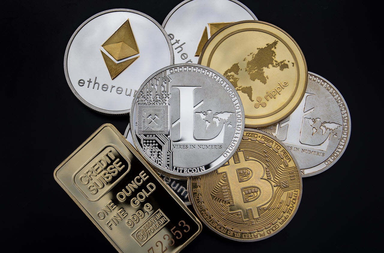 Bitcoin (BTC) vs Ethereum (ETH) vs Ripple (XRP) vs Litecoin (LTC)