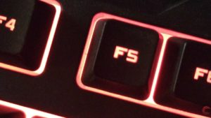What does F5 key do in Windows? How does it work?