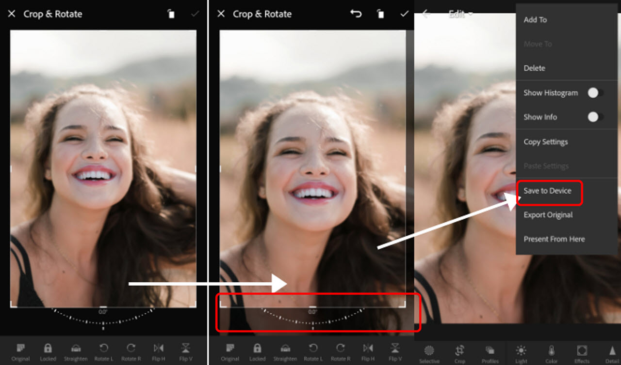 How to blur, crop and whiten teeth in Lightroom? | Candid.Technology