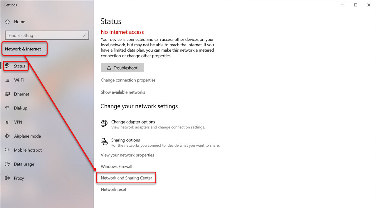 How to find IP address and WiFi password in Windows 10?