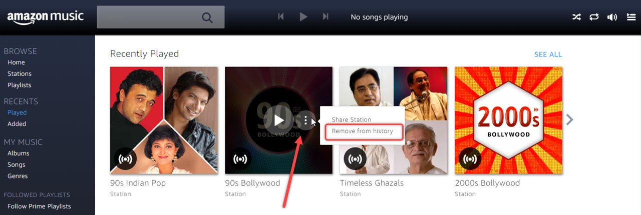 How to delete song history in Amazon music app? Tips and Tricks