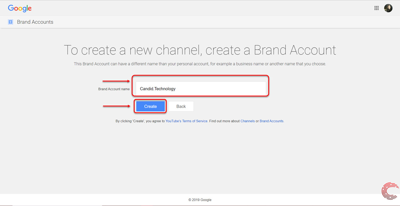 How to create a YouTube channel and get custom URL?