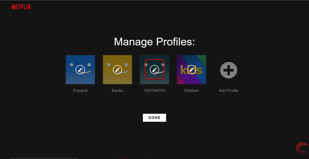How to delete a Netflix profile from your account via phone app and PC?