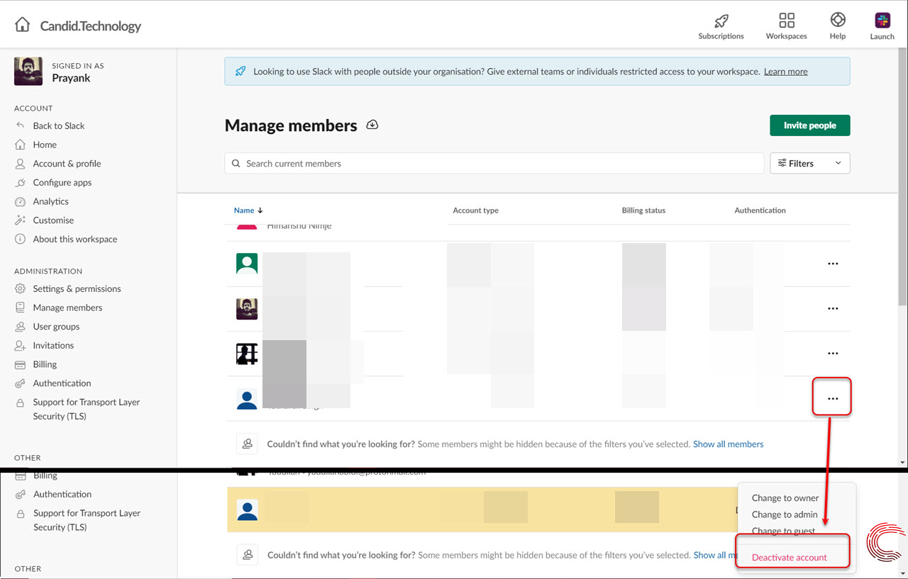 How to invite someone to Slack via PC, Android and iOS?