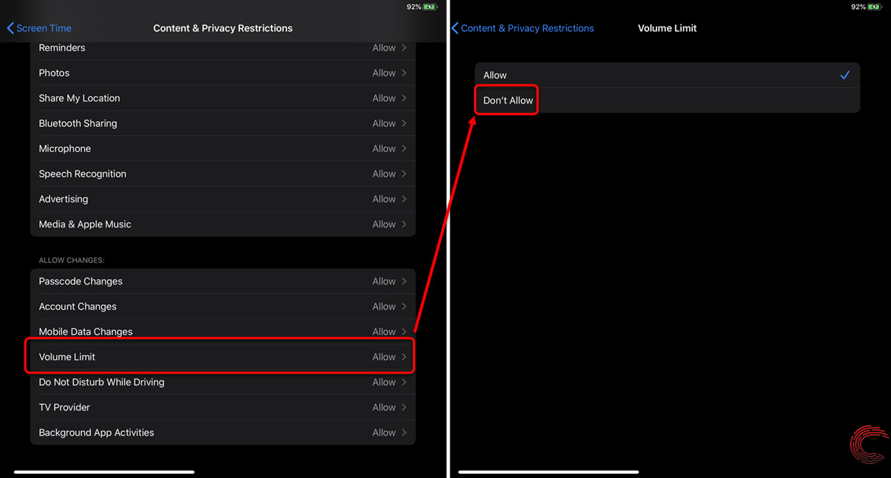 How to set the maximum volume limit on your iPhone, iPad or iPod?
