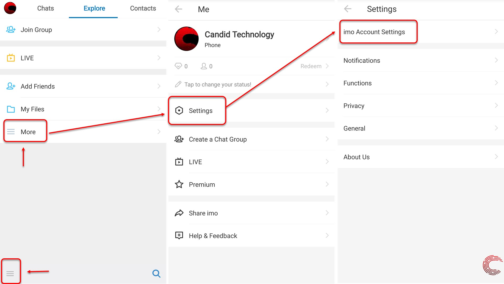 How to delete your IMO account? In five easy steps