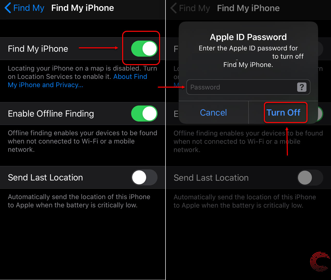How to turn off Find My iPhone? Works for iPad and iPod Touch