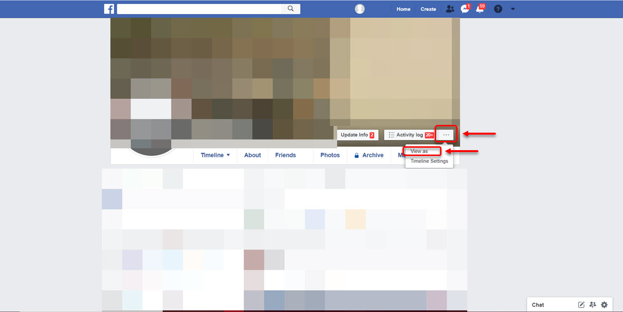 How to view your Facebook profile as someone else on PC, iOS, Android?