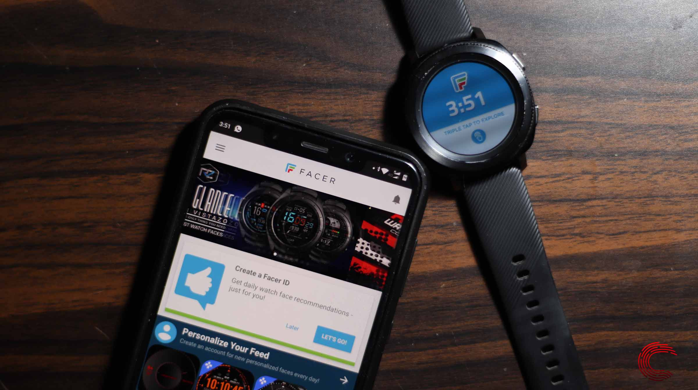 How to use third party watch faces on Galaxy Watch Active or Gear?