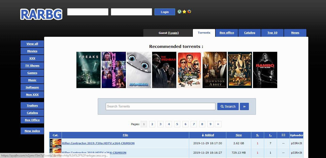 Top 7 torrent websites with active website and proxy