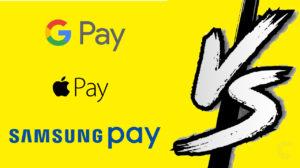 Apple Pay vs Google Pay vs Samsung Pay: 3 key talking points