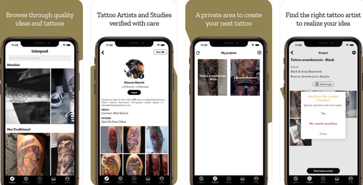 Top 7 tattoo design apps for Android and iOS | Candid.Technology