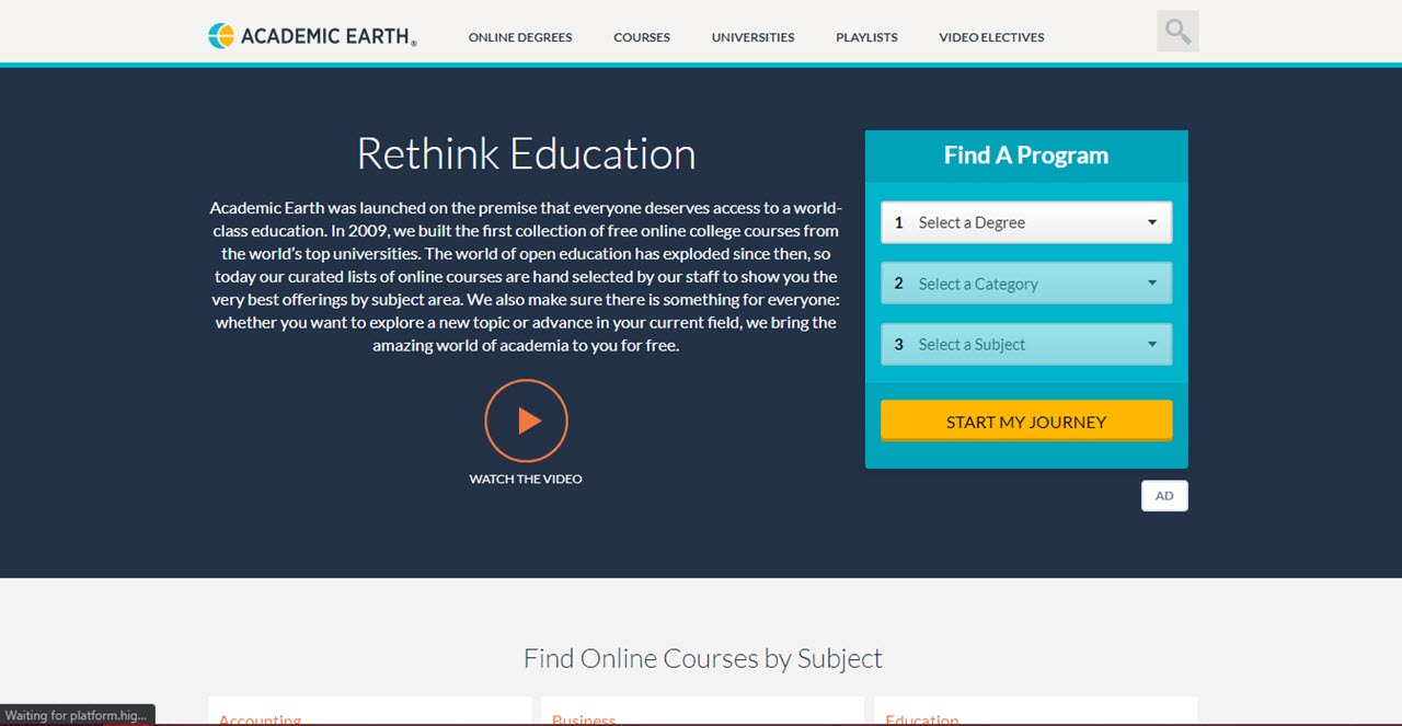 Top 7 education websites for students to learn new subjects and skills