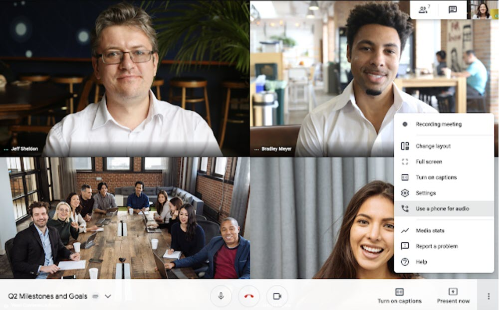 Google Hangout's now allows users to connect via phone call
