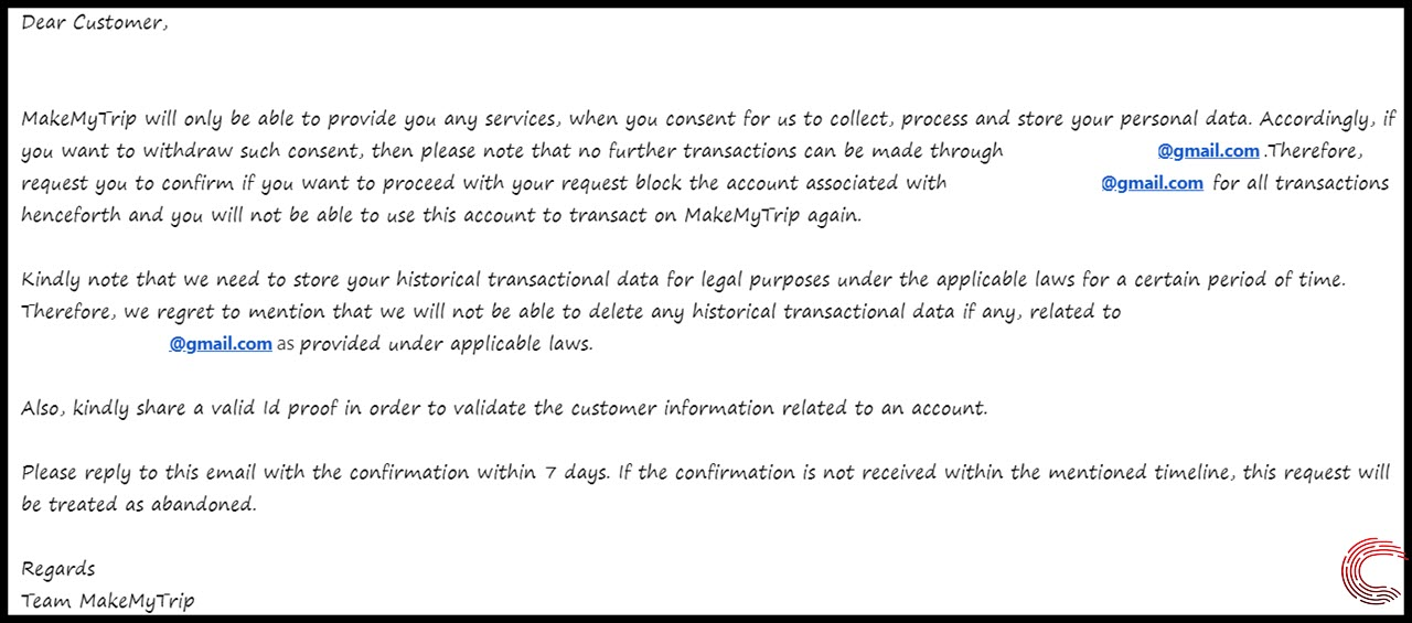 How to delete your MakeMyTrip account? | Candid.Technology