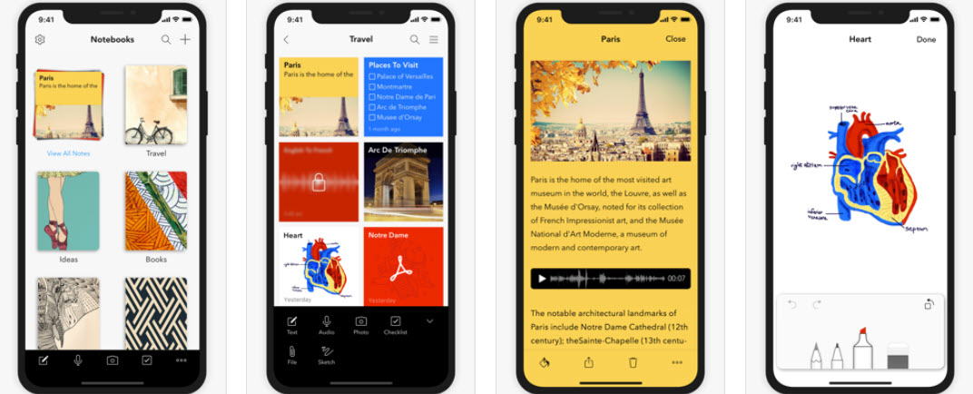 Top 7 notes app for iOS to help with your to-do's, capturing ideas and info