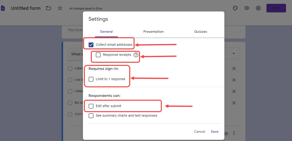 How to create a survey in Google Form? | Candid.Technology