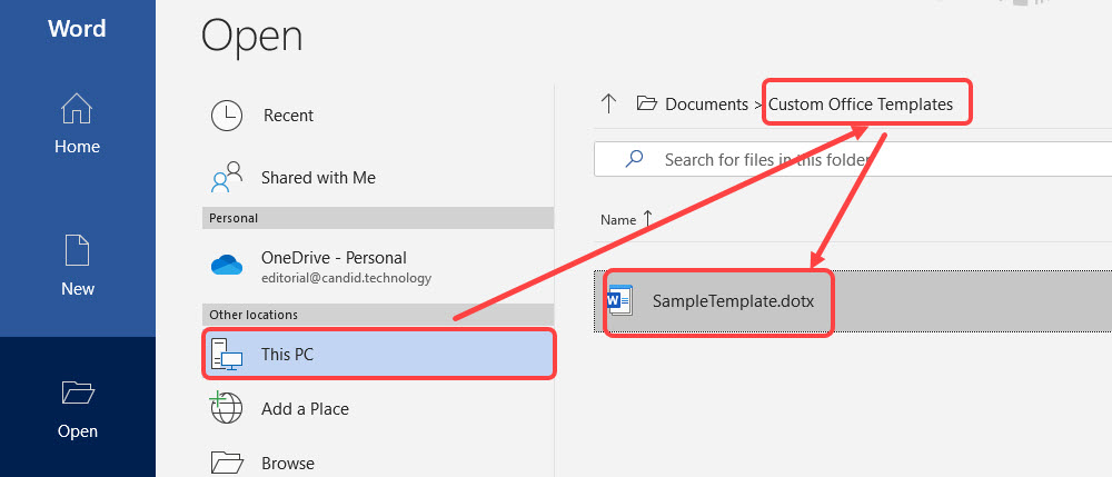 How to create a template in Word?   Candid.Technology