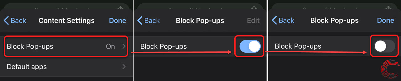 How to disable pop-up blockers in Google Chrome? PC, Android and iOS