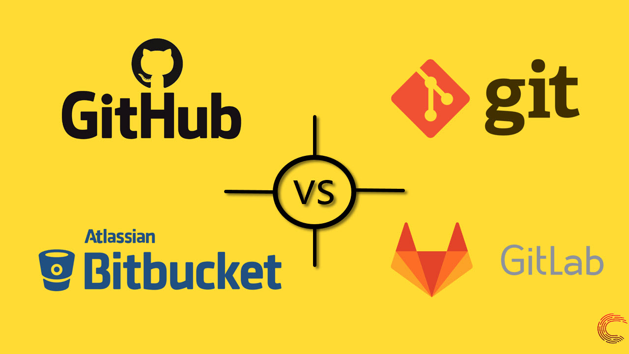 GitHub vs Git vs GitLab vs Bitbucket | Comparison