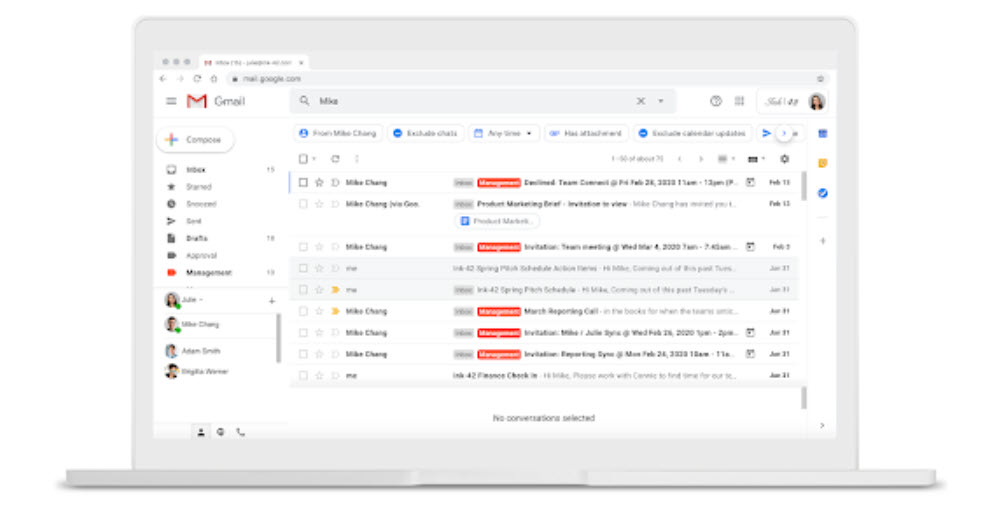 Gmail is getting search chips: Filters for inbox search