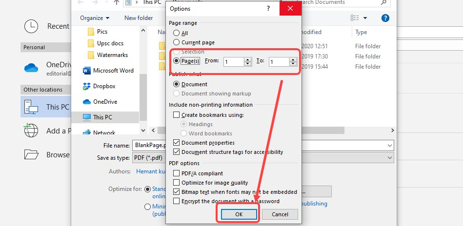 How to delete a blank page in Microsoft Word? On PC and App
