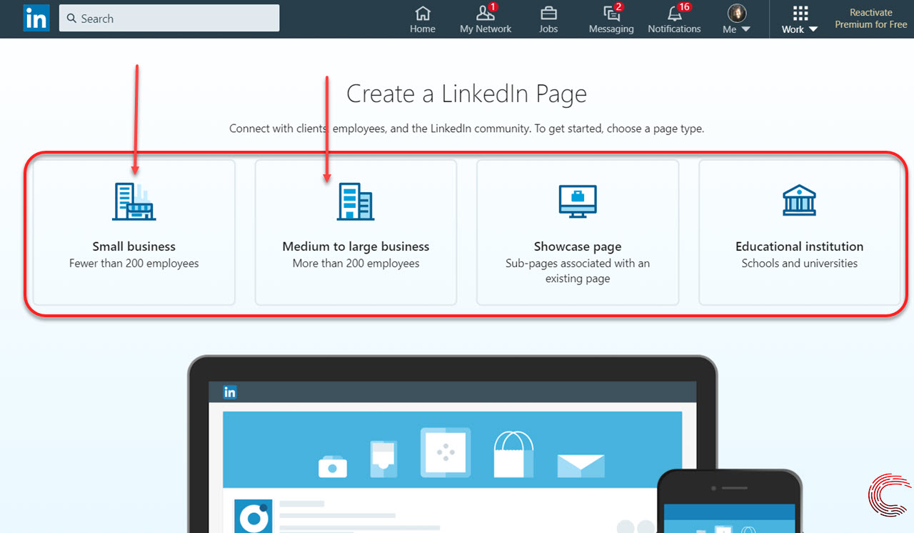How to create a business page on LinkedIn? In 3 simple steps