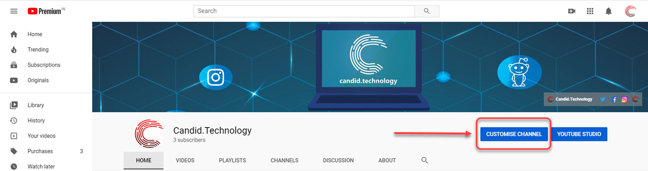 How to change the YouTube banner? A step-by-step guide