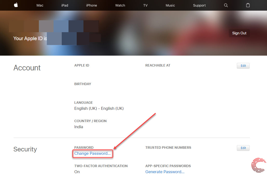 How to change Apple ID password? On your iPhone, iPad and online