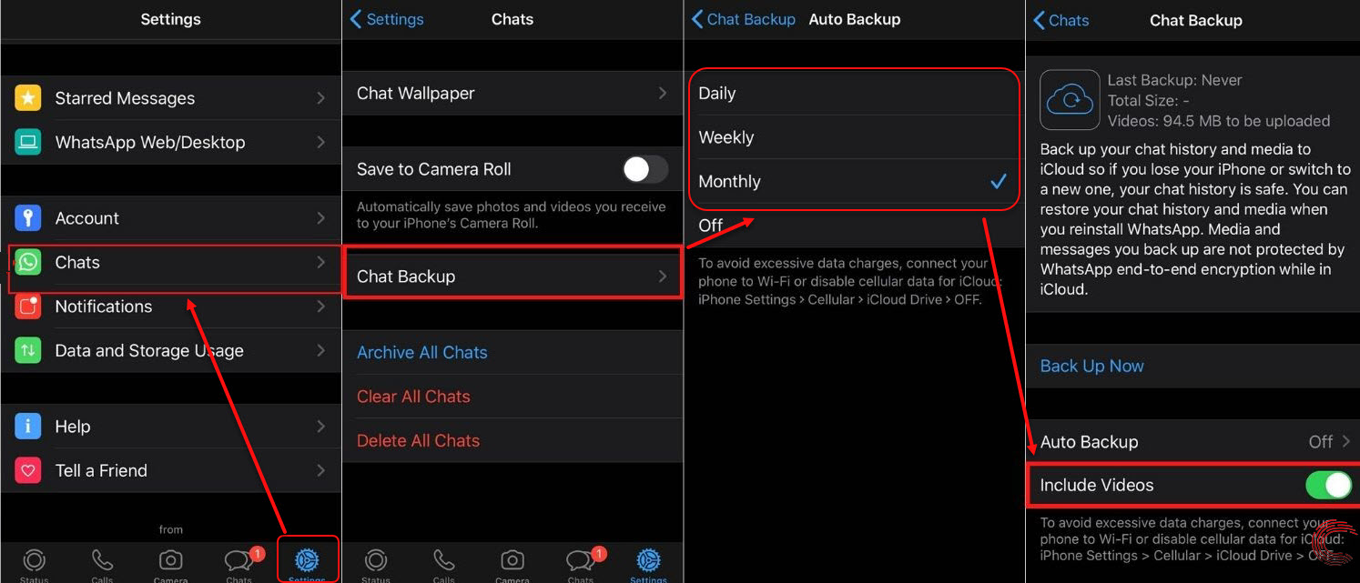 How to backup Whatsapp on iPhone? | Candid.Technology