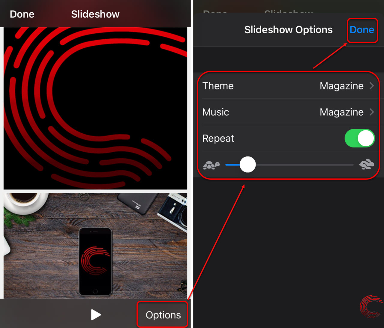 How to make a slideshow on your iPhone and iPad?