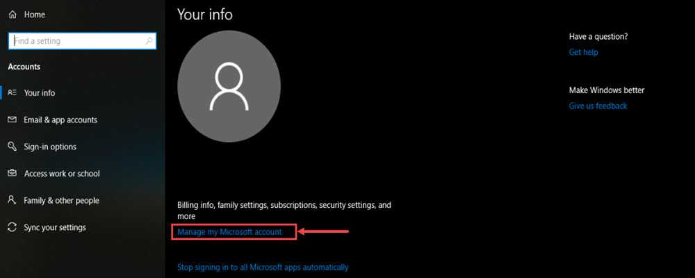 How to change your account name in Windows 10?