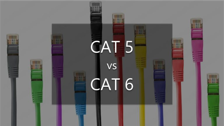 What's the difference between Cat 5 and Cat 6 cables?