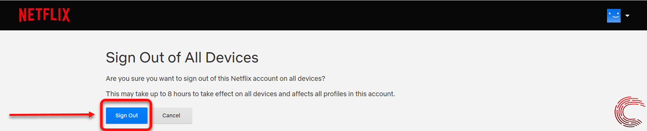 How to sign out of Netflix from a single device and all devices?