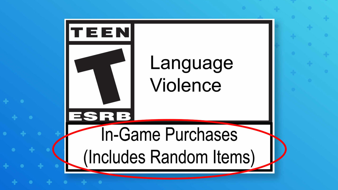 ESRB introduces In-Game Purchases (Includes Random Items) rating