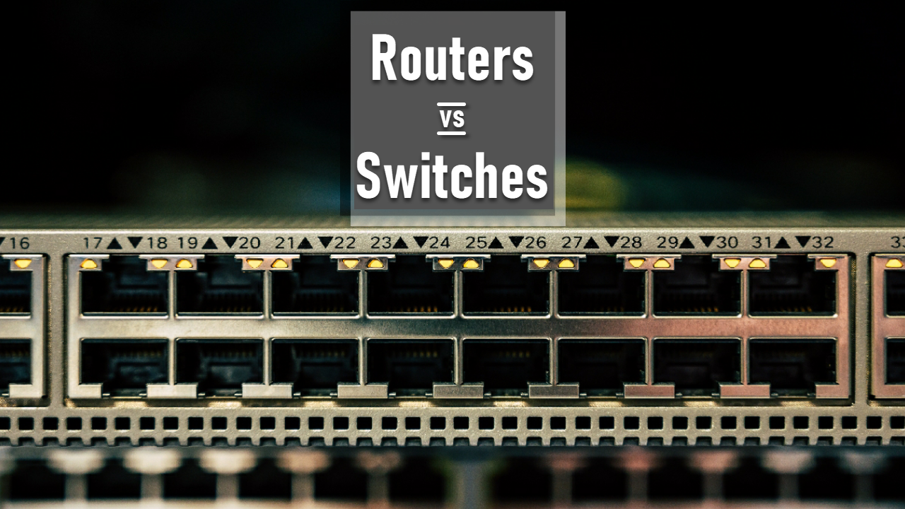 What is the difference between Router and Switch?