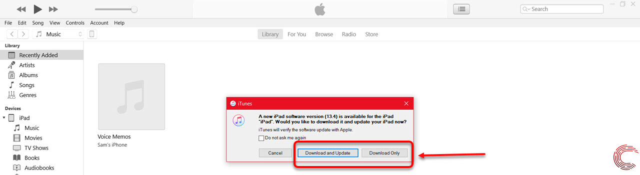 How to update iPad in iTunes on PC?   Candid.Technology