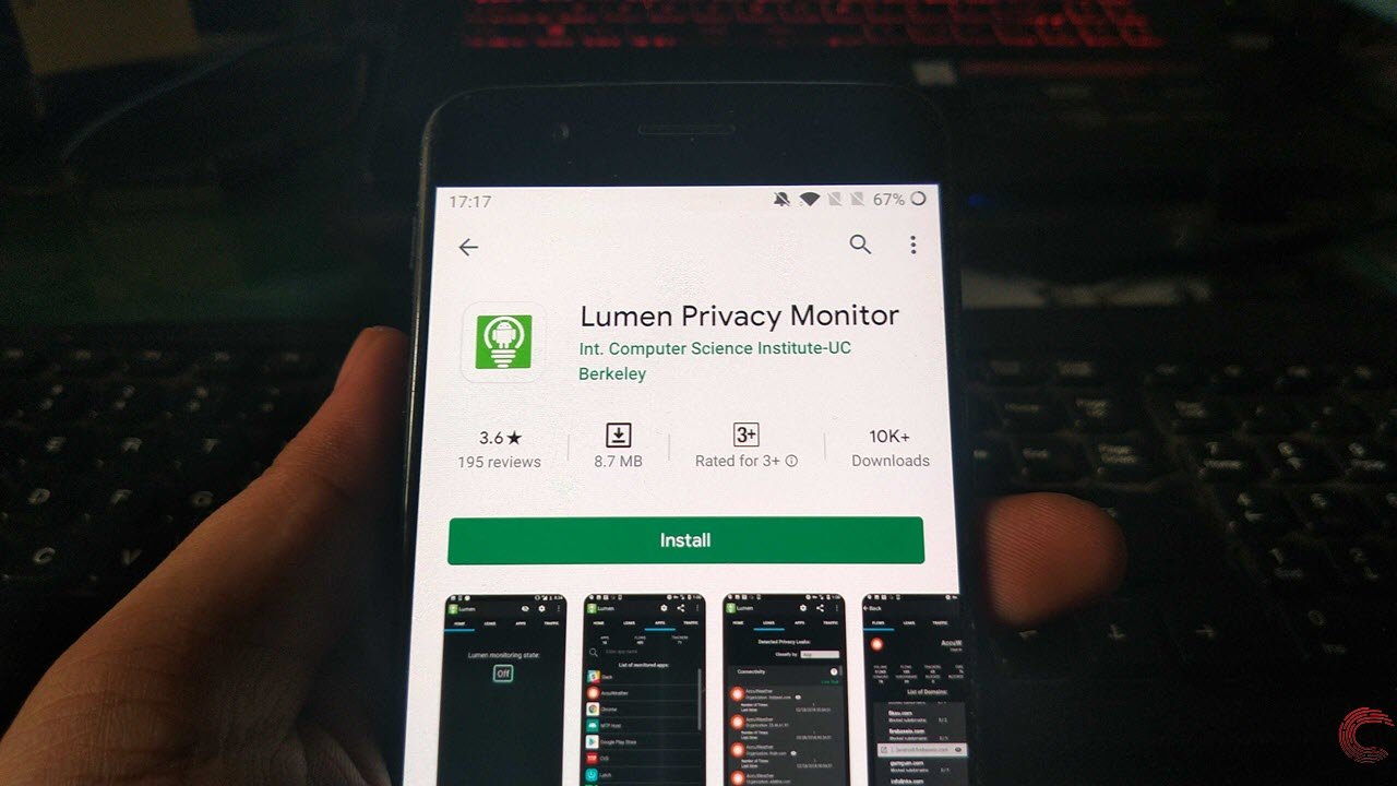What is Lumen Privacy Monitor? How does it work?