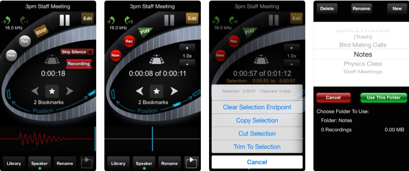 Top 7 audio recording apps for iPhone | Candid.Technology