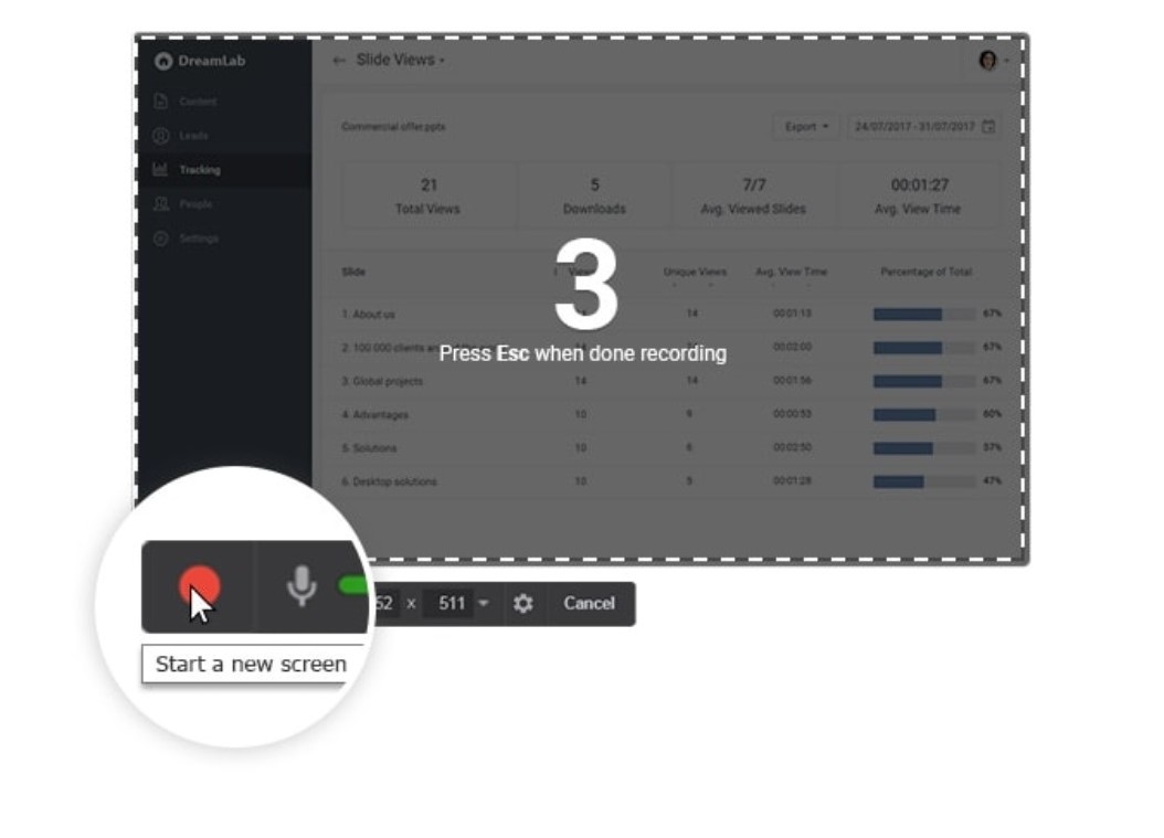 Top 7 screen recorder apps for Win­dows 10 | Candid.Technology