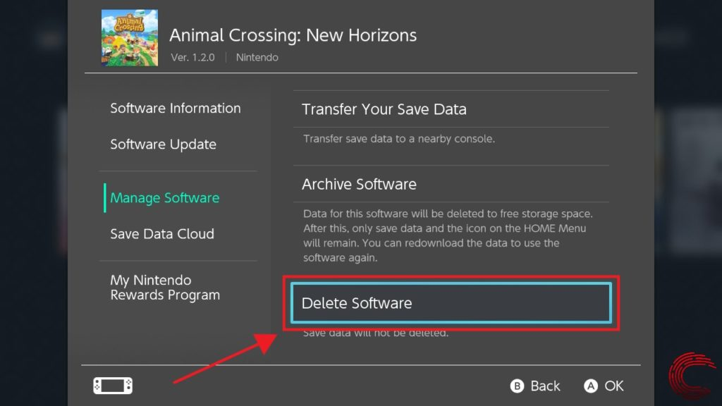 How to delete games on Nintendo Switch? | Candid.Technology