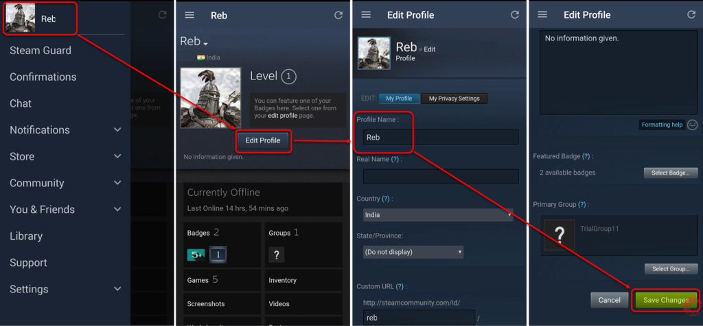 How to change your Steam account name?   Candid.Technology
