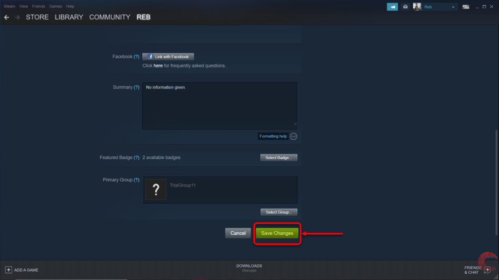 How to change your Steam account name? | Candid.Technology