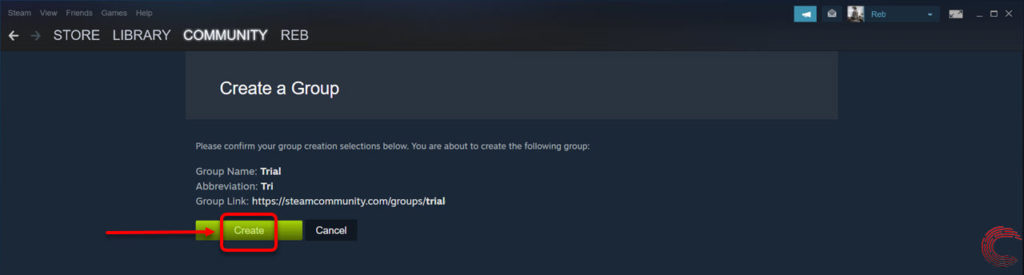How to create a group on Steam? | Candid.Technology