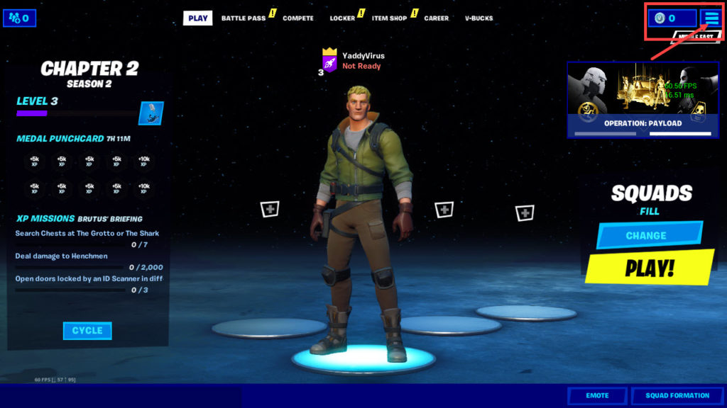 How to show FPS and Ping in Fortnite? | Candid.Technology